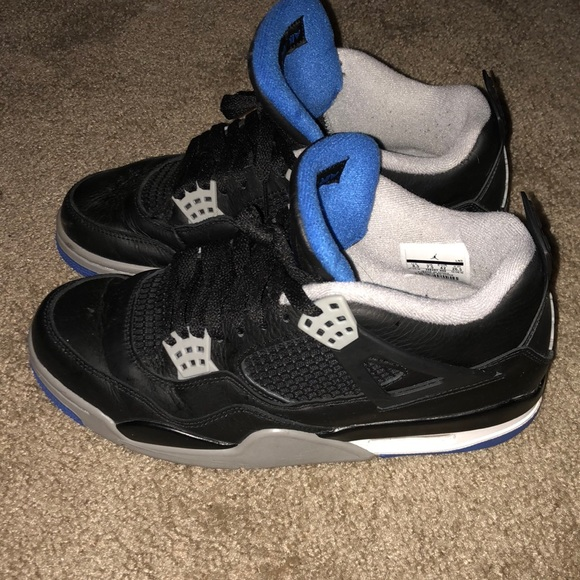 Air Jordan 4 Blackblue | Poshmark